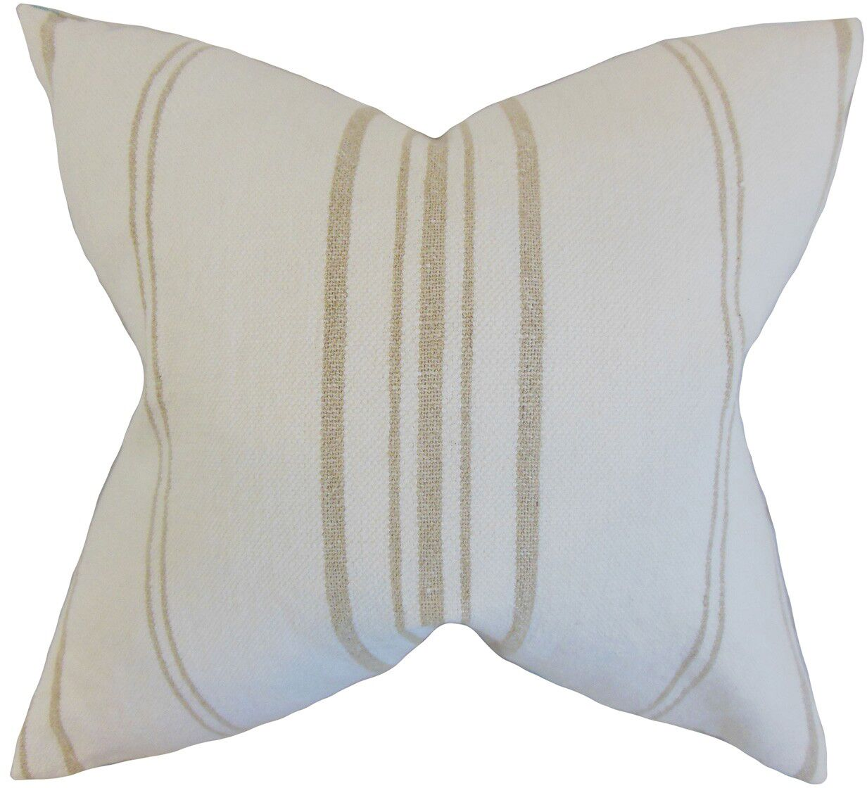 Dharia Linen Throw Pillow Size: 20