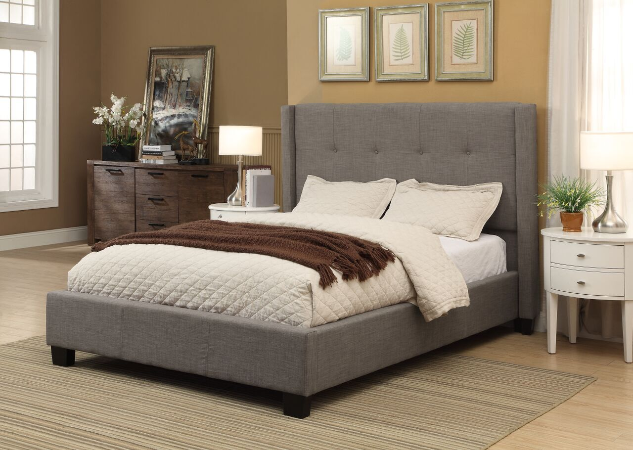 Madeleine Upholstered Panel Bed Size: Queen