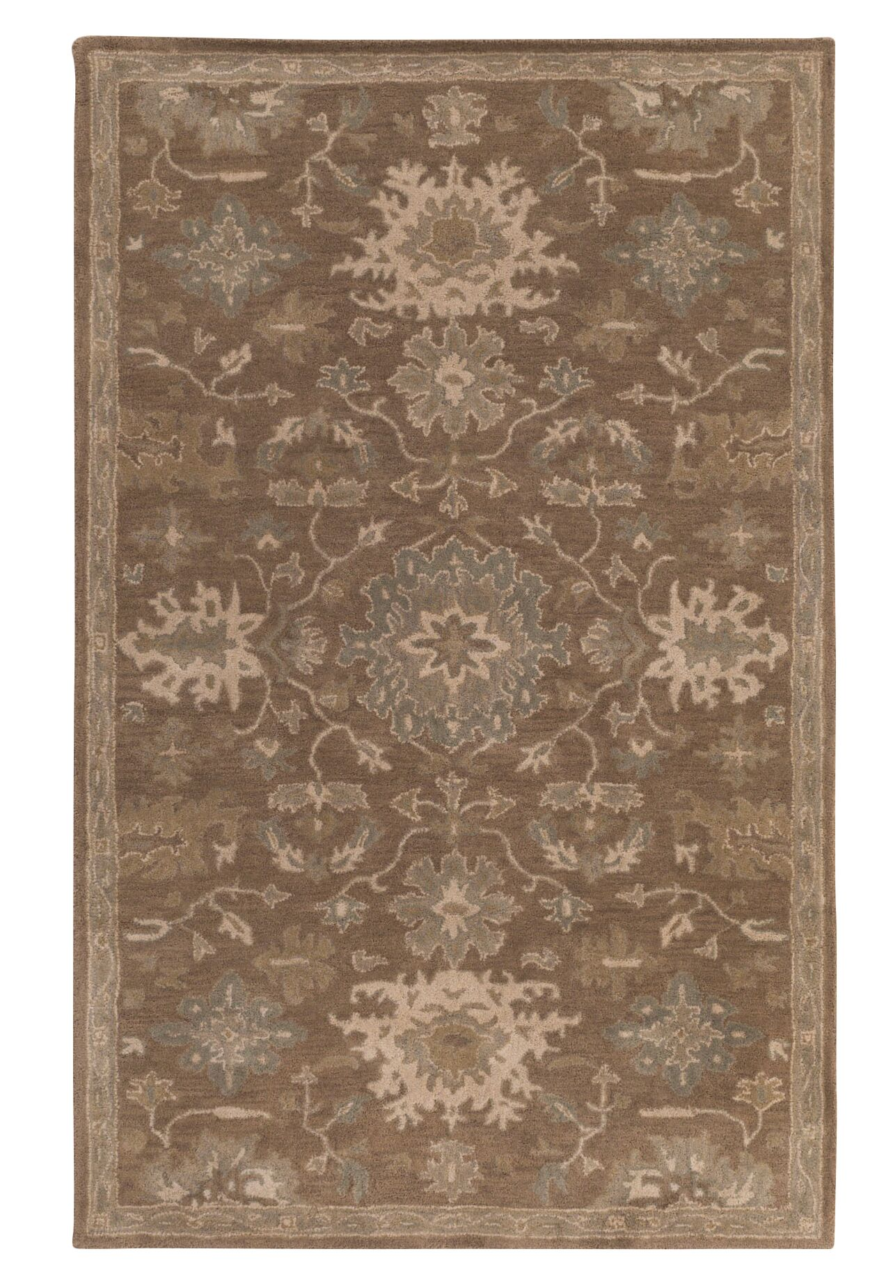 Whittaker Brown Area Rug Rug Size: Rectangle 8' x 11'