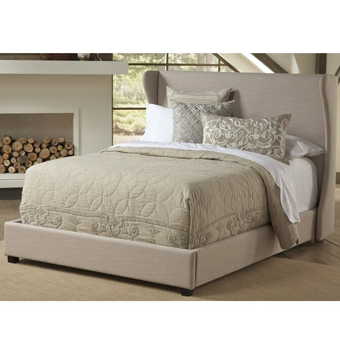 Westgate Upholstered Panel Bed Size: Queen