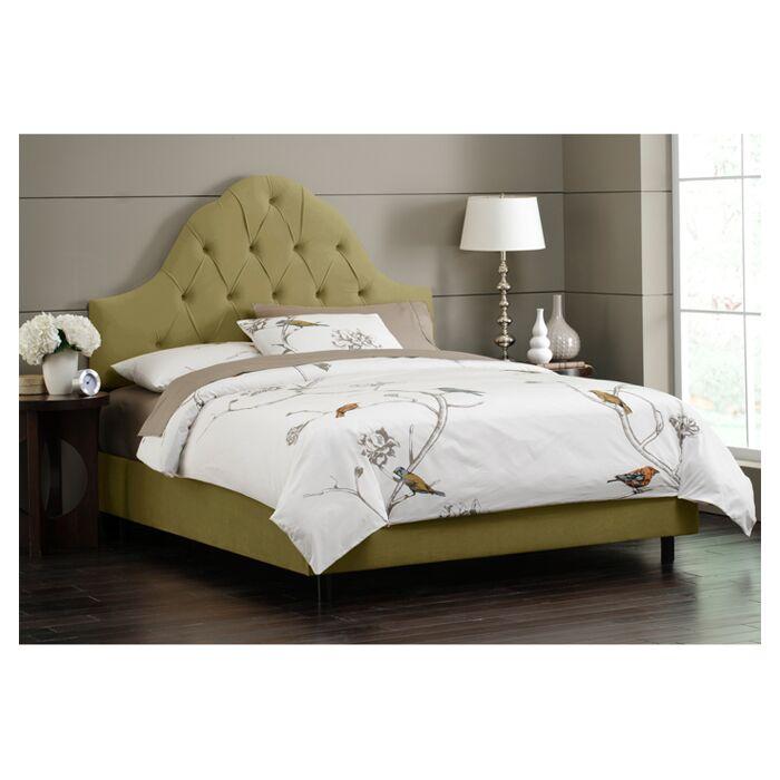 Melonie Tufted Upholstered Platform Bed Size: King