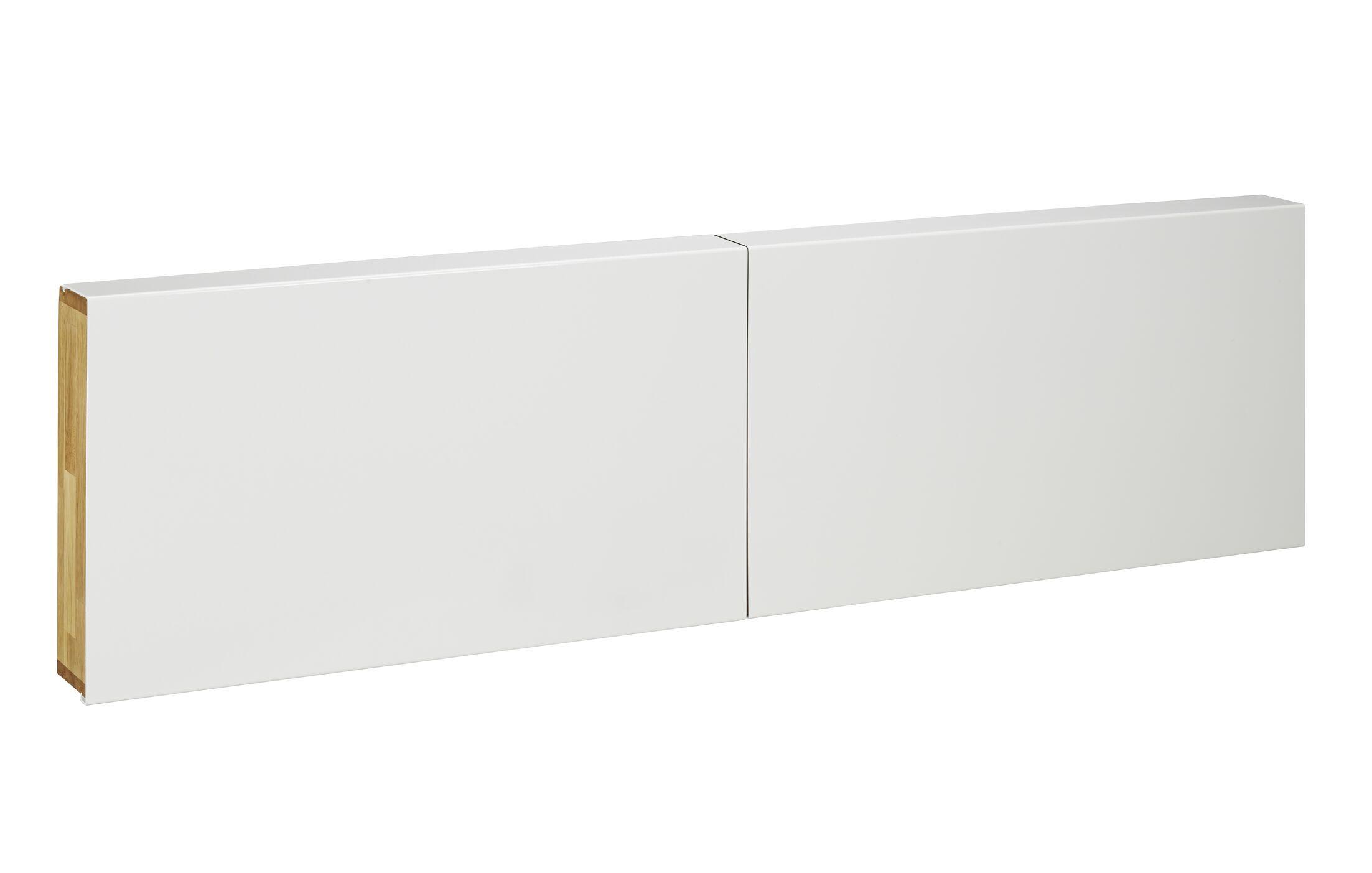 LAX Series Bookcase Headboard Size: King