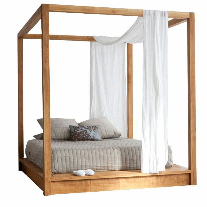 PCHseries Canopy Bed Size: Queen