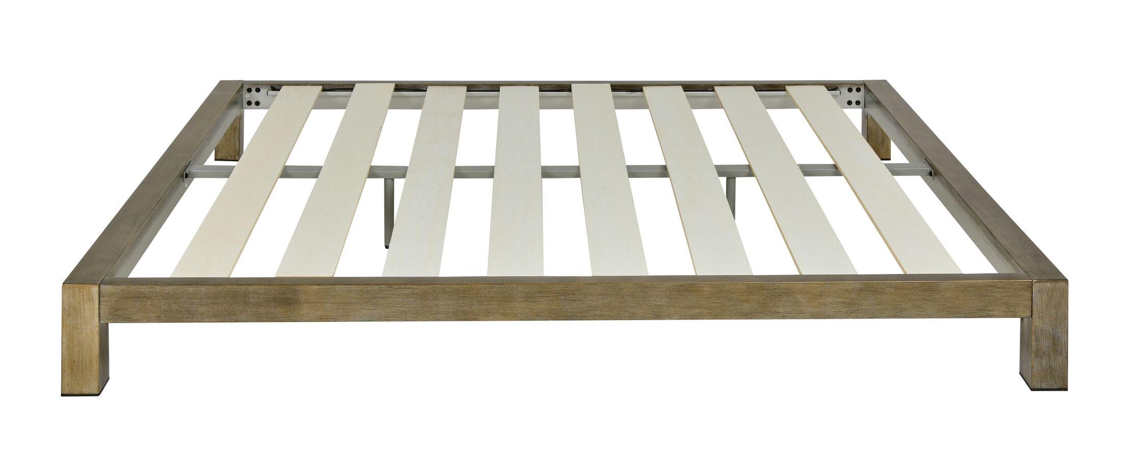 Szumowski Metal Platform Bed Frame Size: Queen