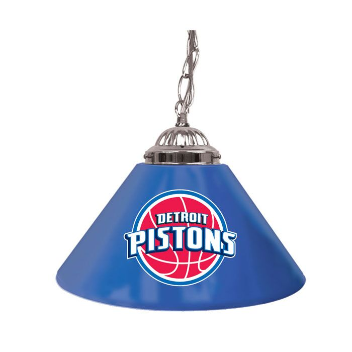 NBA Single Bar Lamp NBA Team: Detroit Pistons