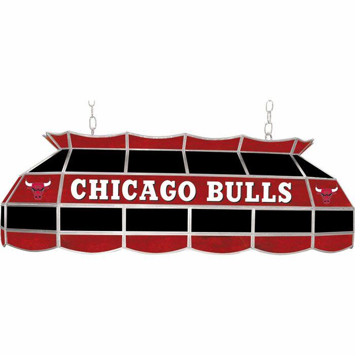 3-Light Pool Table Light NBA Team: Chicago Bulls