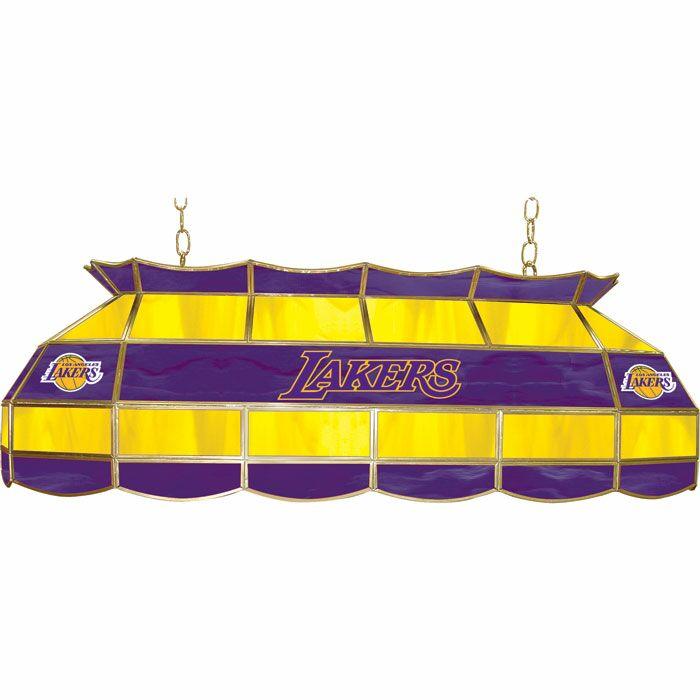 3-Light Pool Table Light NBA Team: Los Angeles Lakers