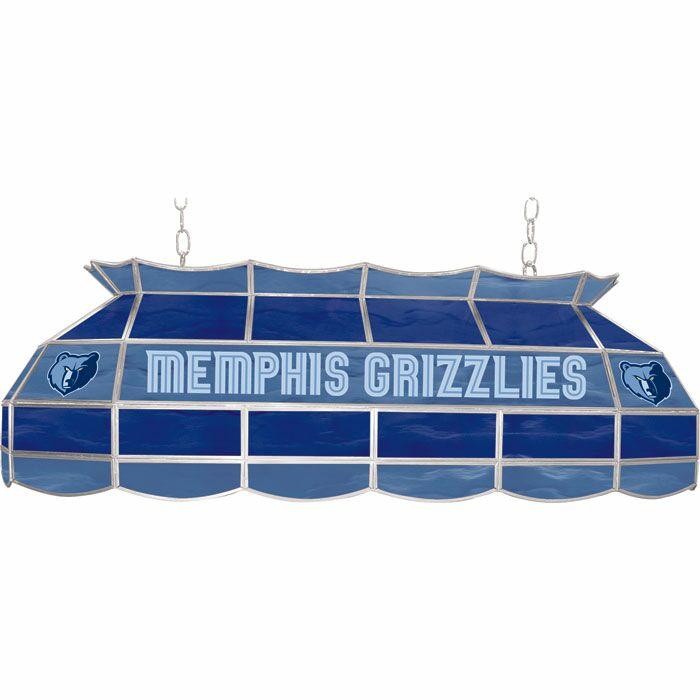 3-Light Pool Table Light NBA Team: Memphis Grizzlies