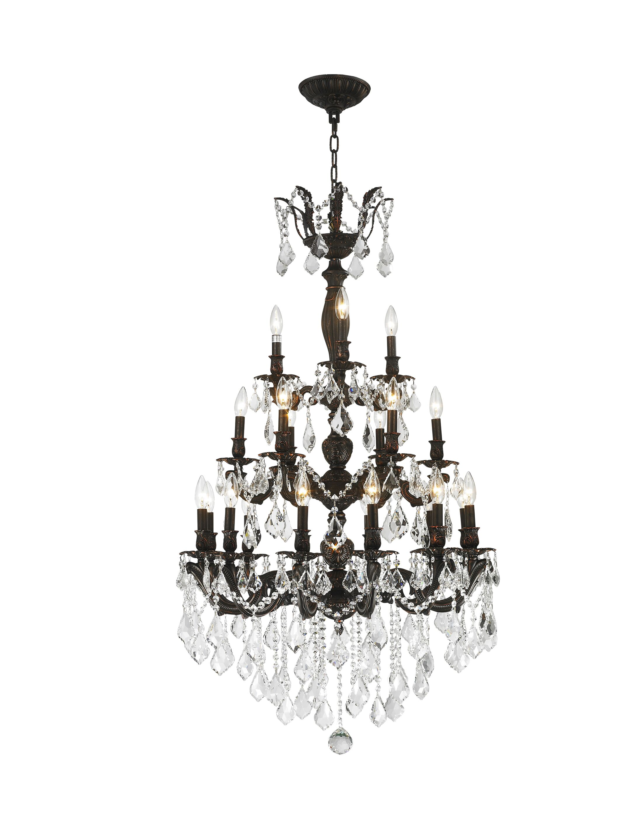 Dodson 21-Light Candle Style Chandelier