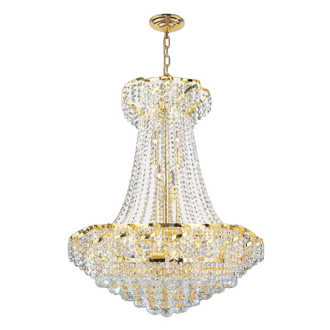 Carson 15-Light Chandelier Finish: Gold