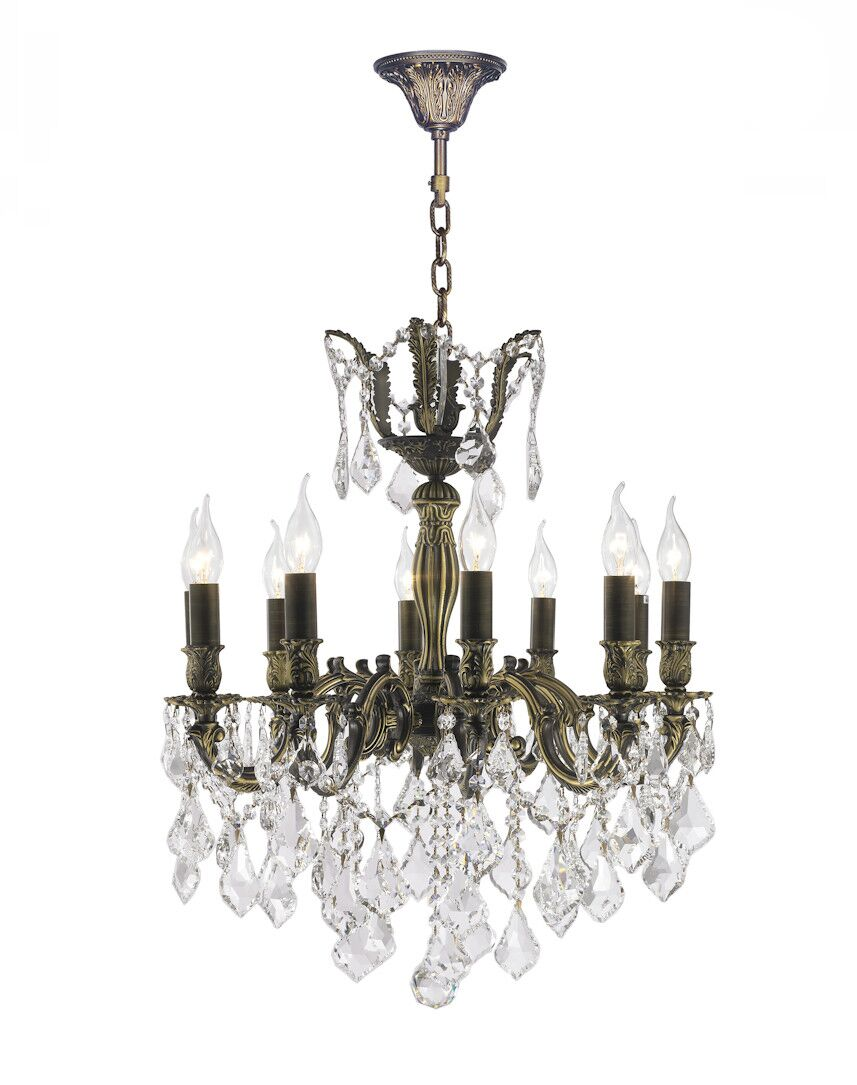 Dodson 10-Light 40W Candle Style Chandelier