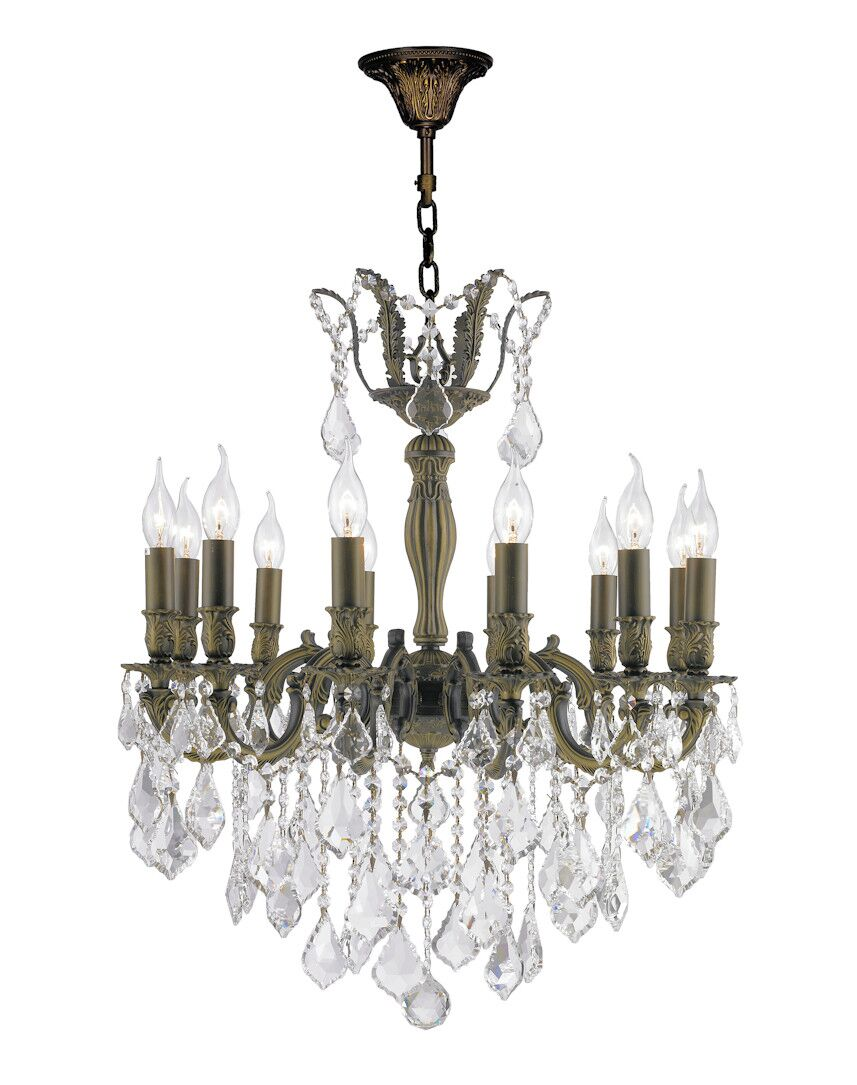 Dodson Traditional 12-Light 60W Candle Style Chandelier Size: 30