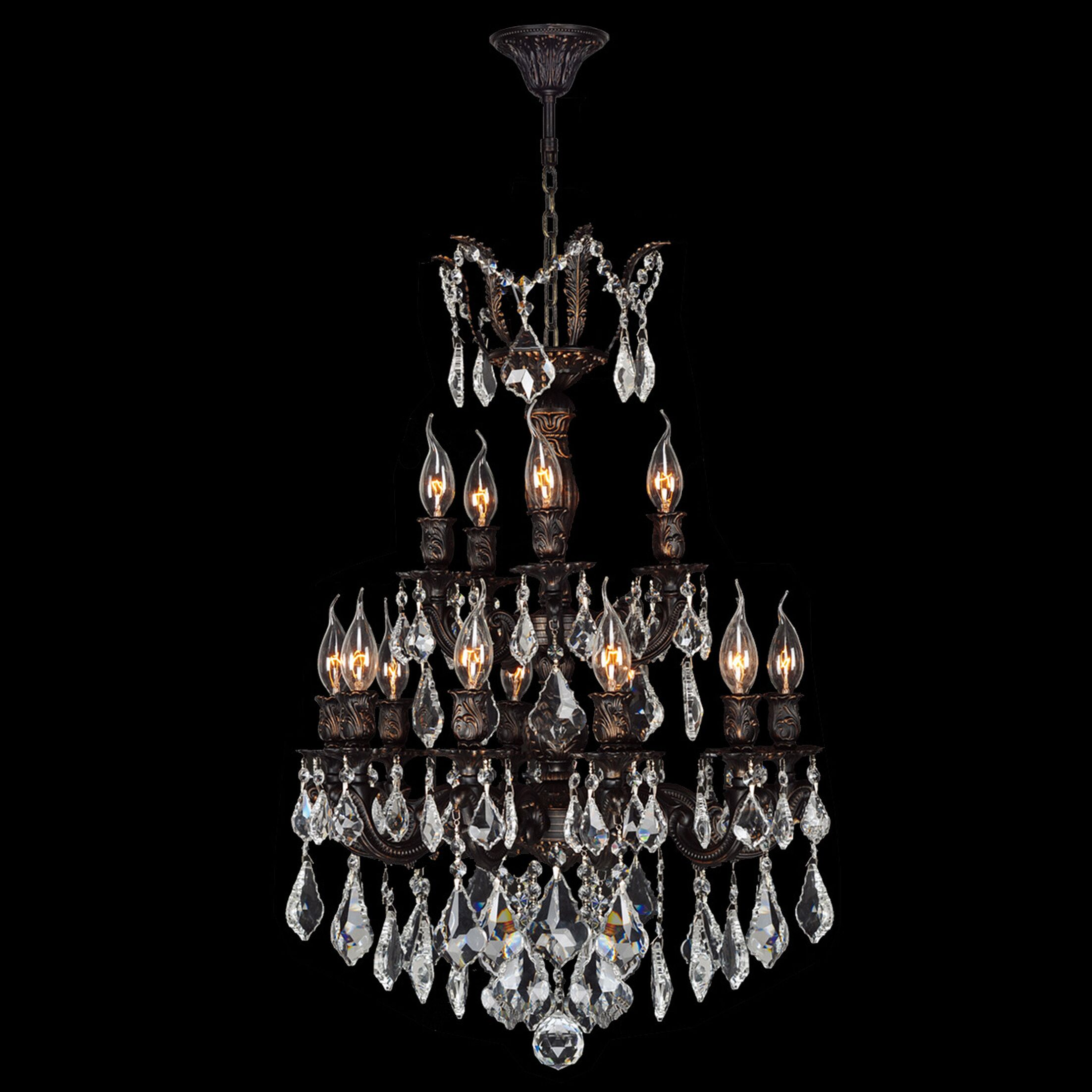 Dodson Traditional 15-Light Candle Style Chandelier