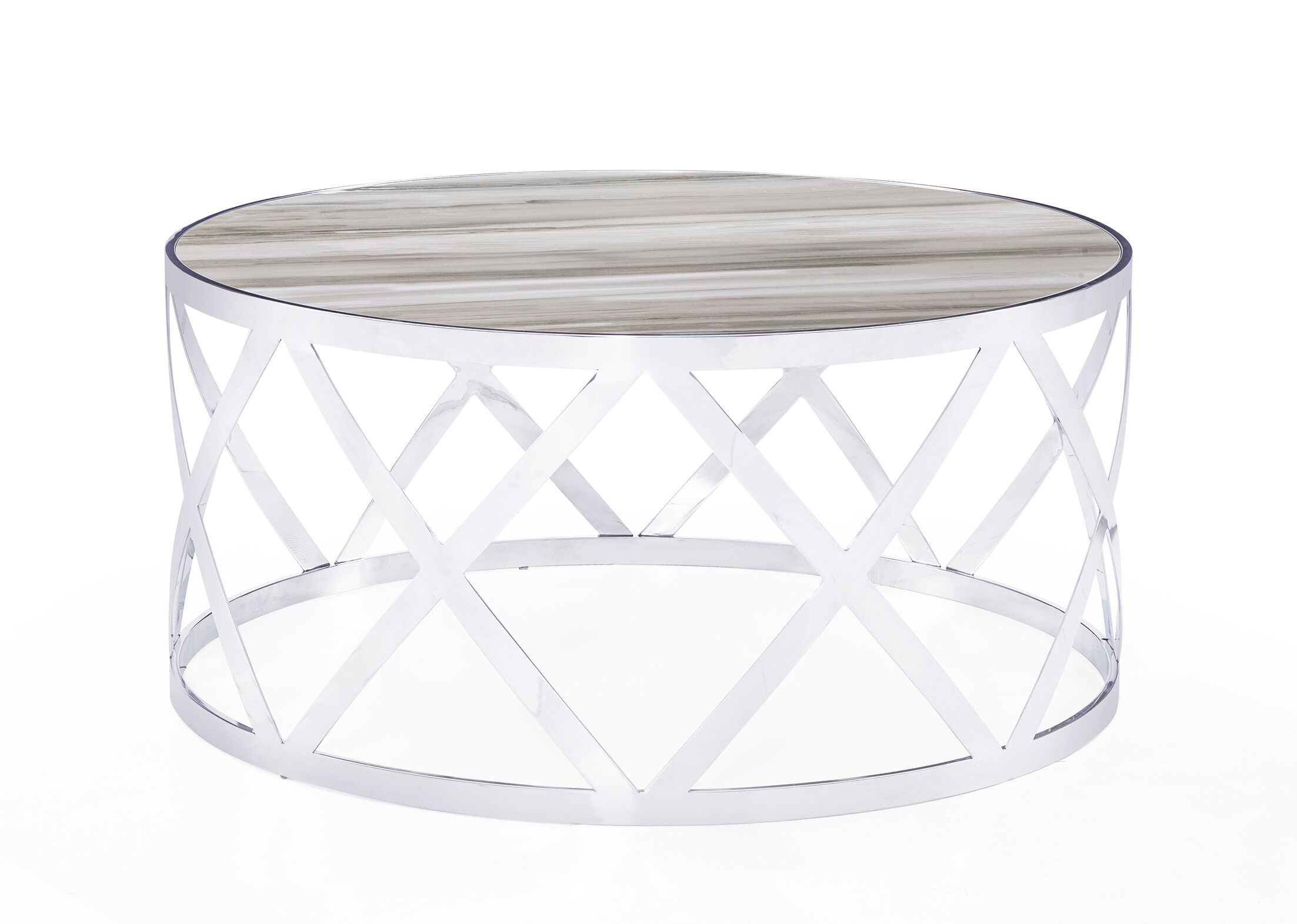 Tribeca Coffee Table Table Top Color: White