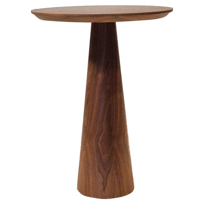 Tower Tall End Table Color: Walnut