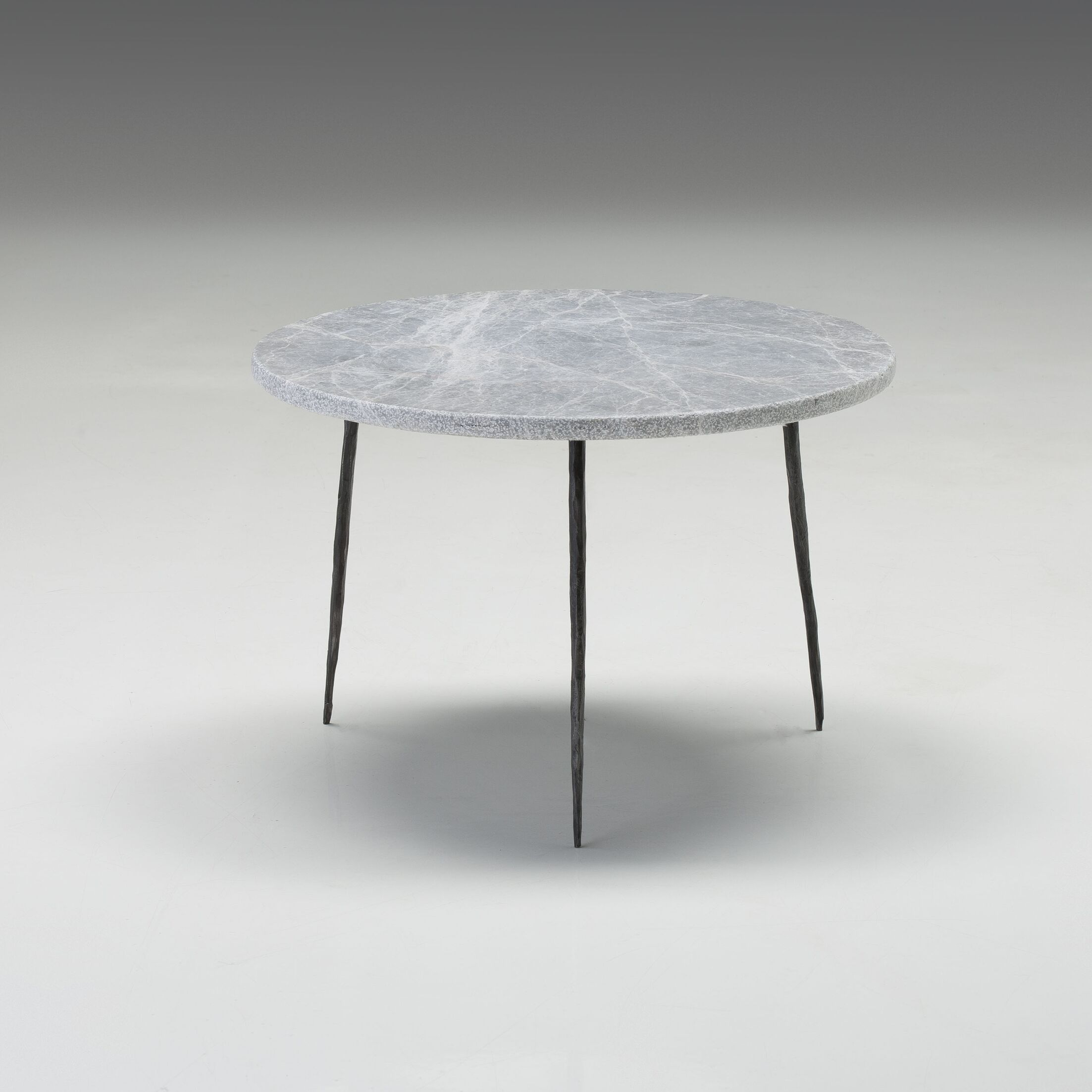 Atropos Low End Table Top Color: Gray Marble