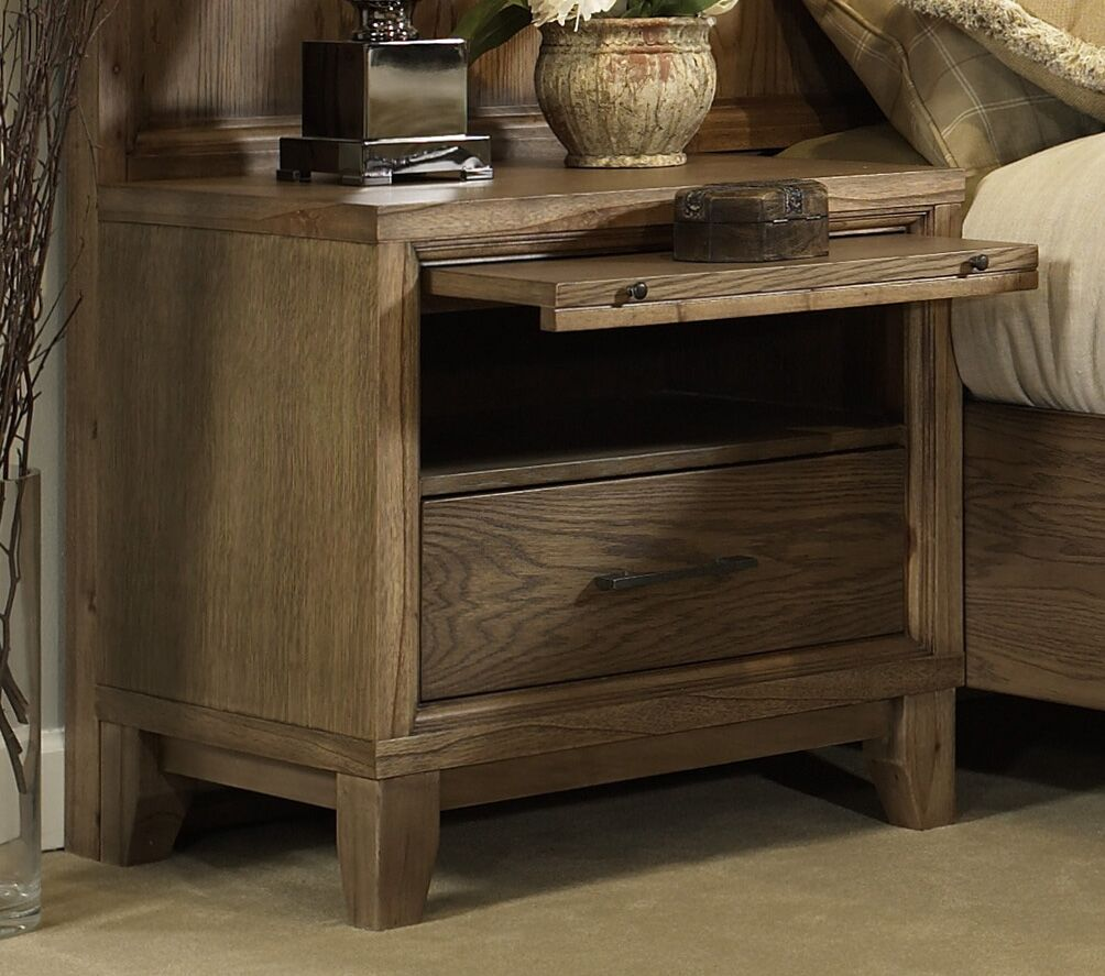 Chelsea 1 Drawer Nightstand Color: Latte