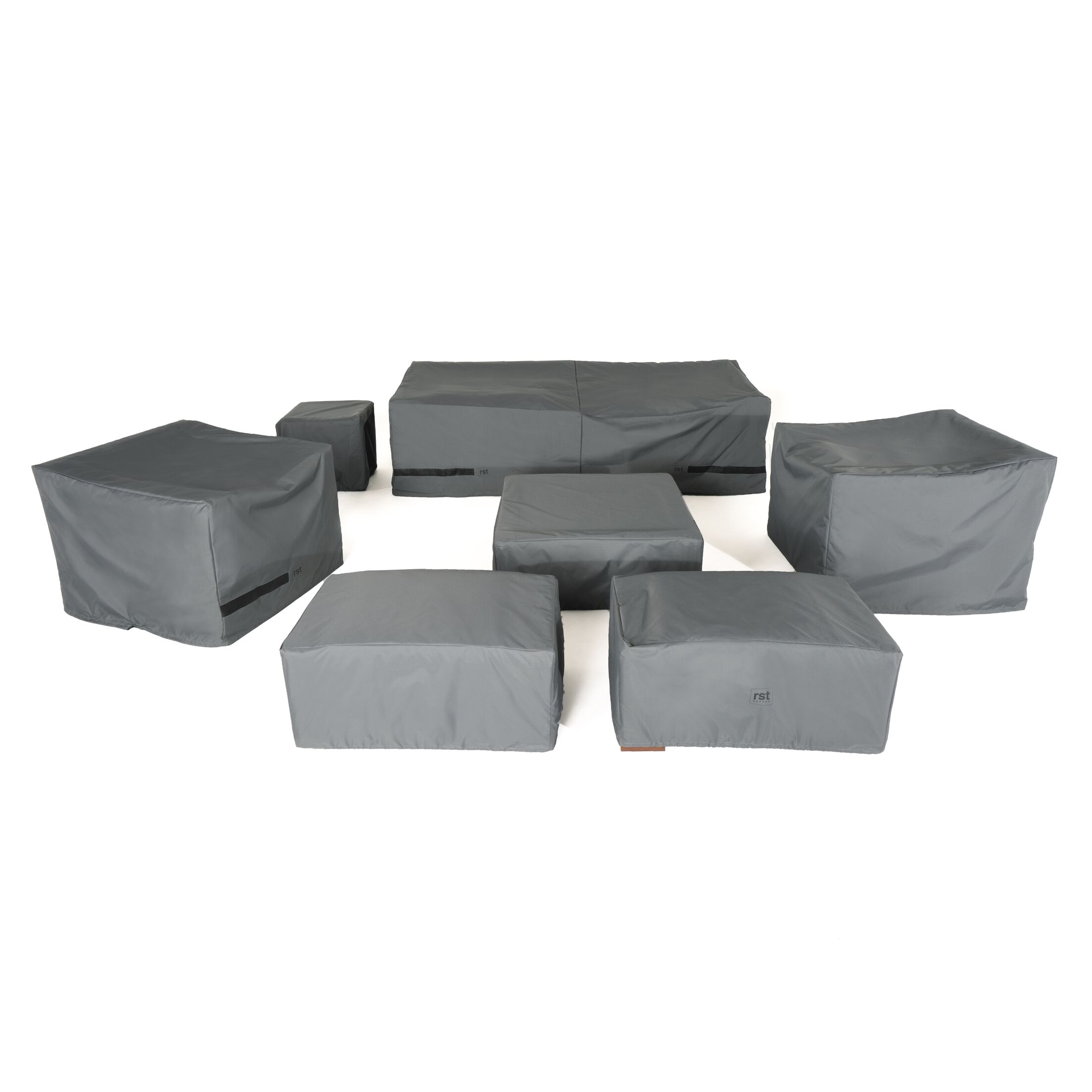 8 Piece Deep Seating Cover Set