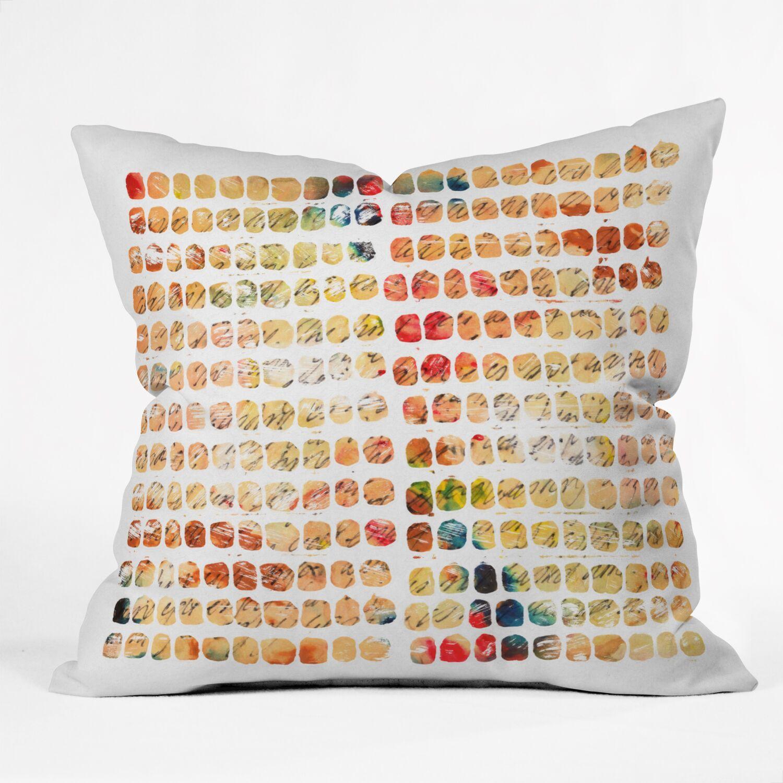 Susanne Kasielke Funny Blocks Throw Pillow Size: Small