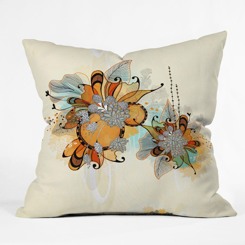 Iveta Abolina Sunset Throw Pillow Size: 18