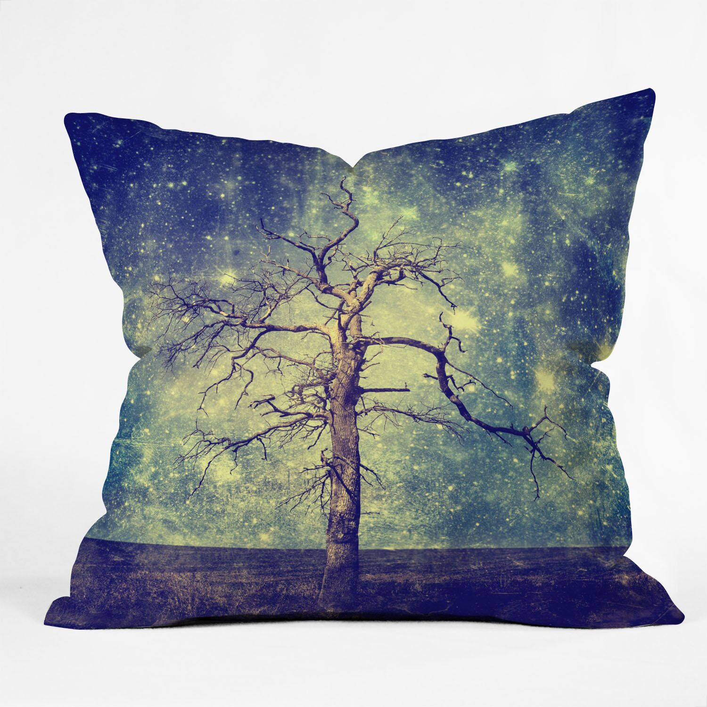 As Old as Time Woven Throw Pillow Size: Medium
