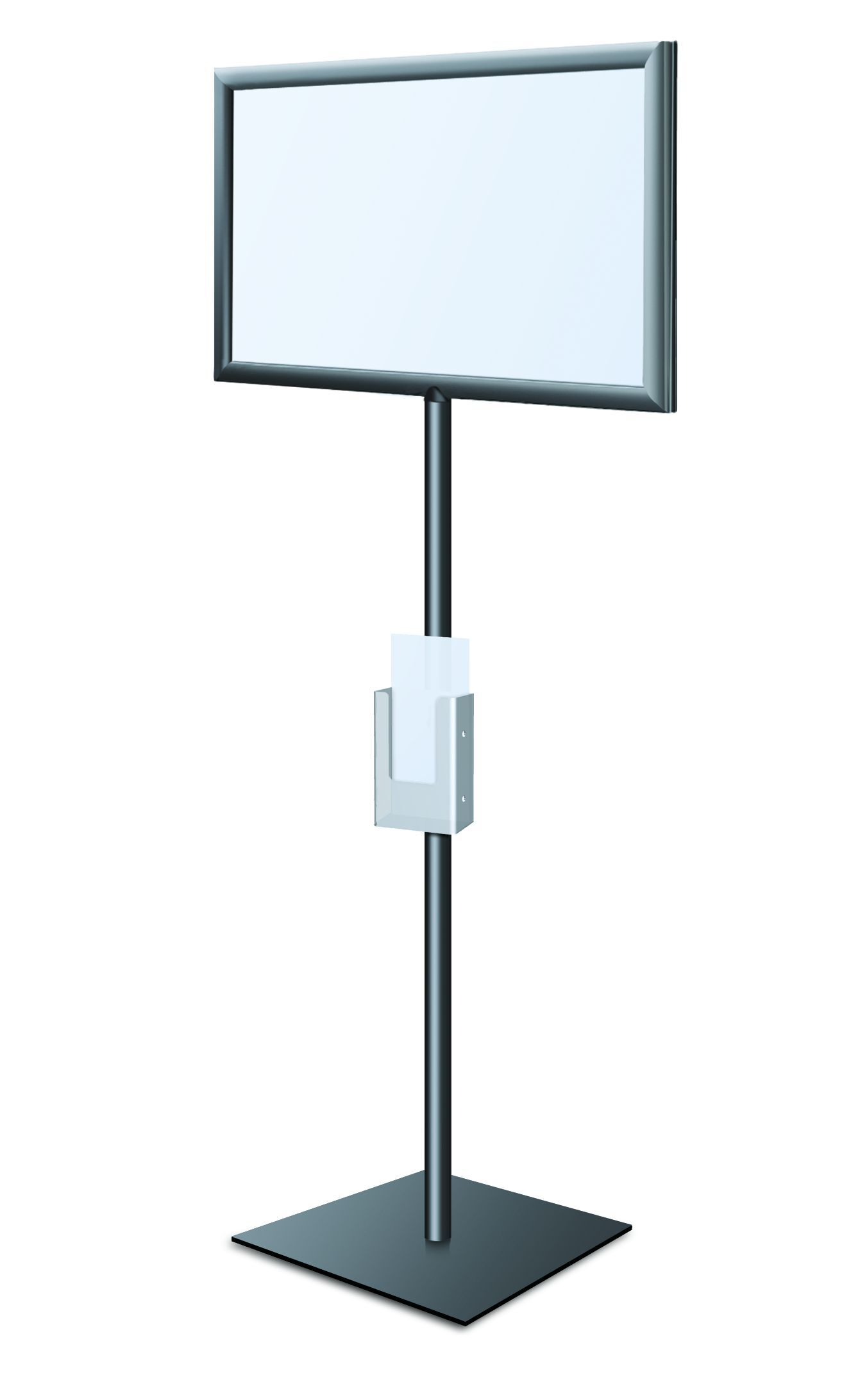 Perfex Pedestal SignFrame Graphic Size: 17