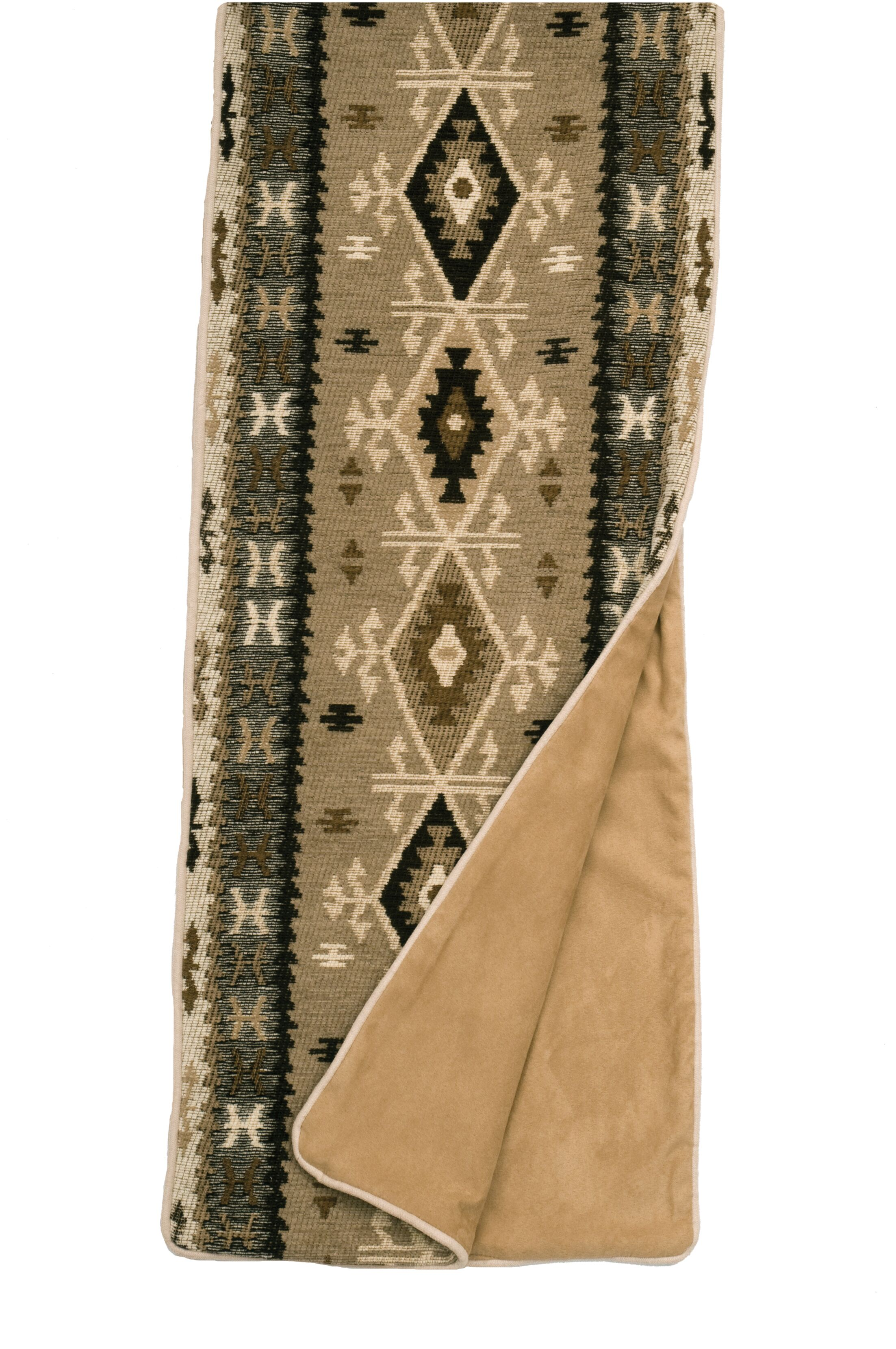 Mountain Storm Bed Scarf Size: Queen