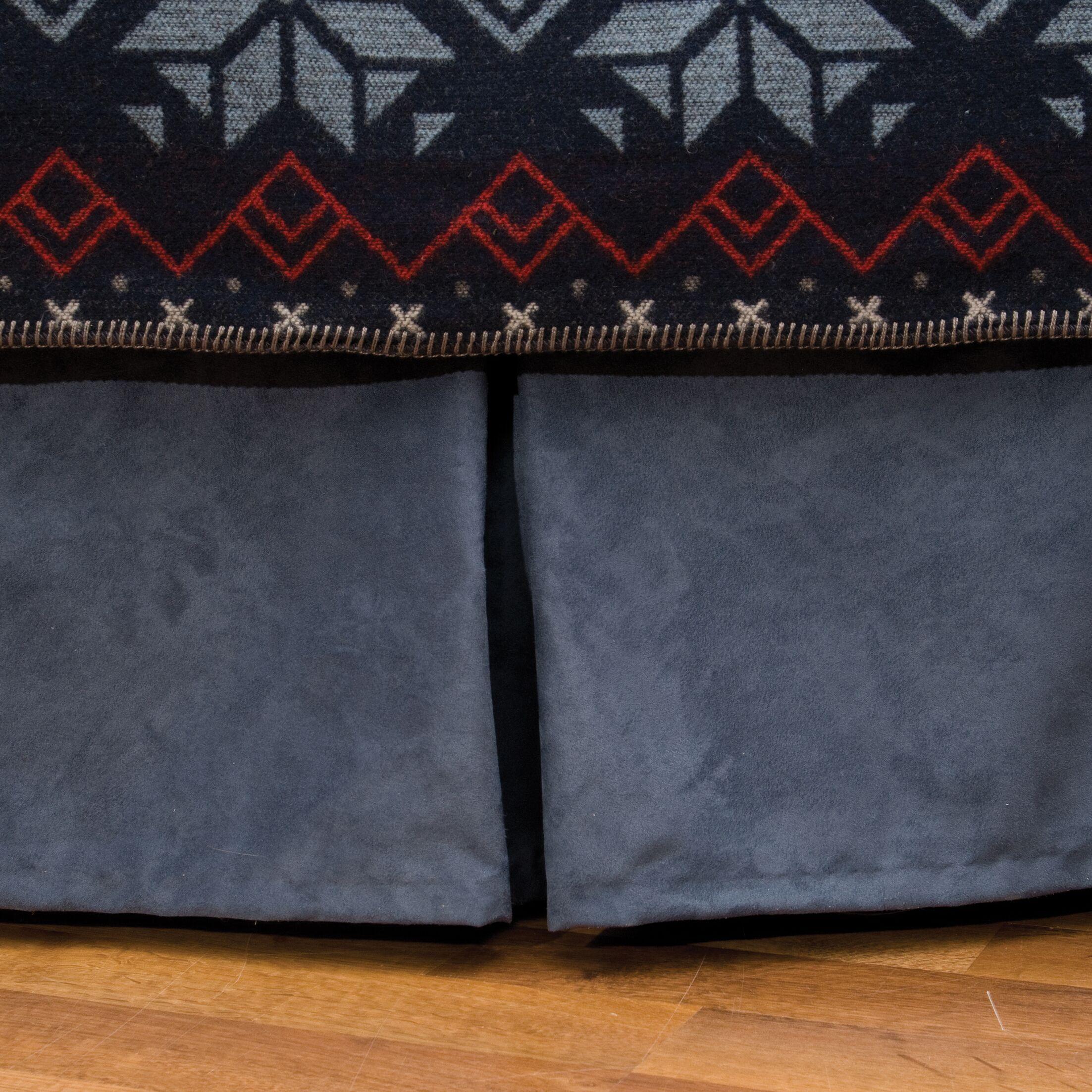 Nordic Bed Skirt Size: Full