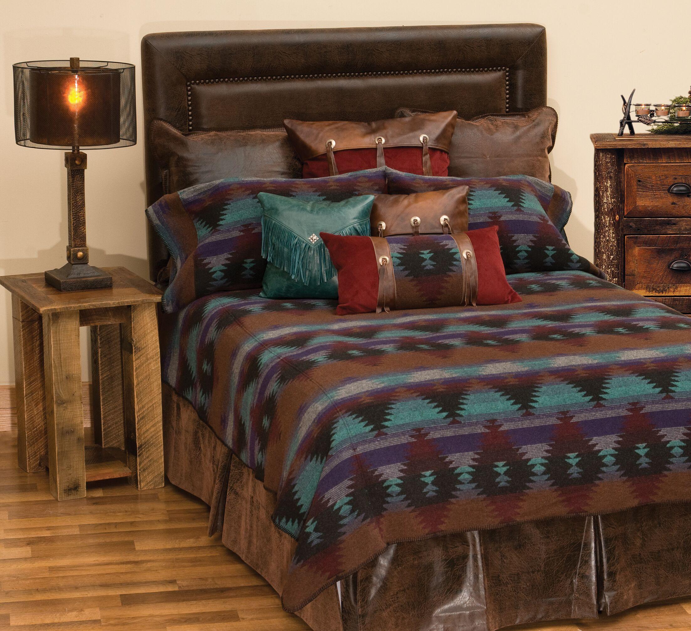 Painted Desert II Bed Skirt Size: California King