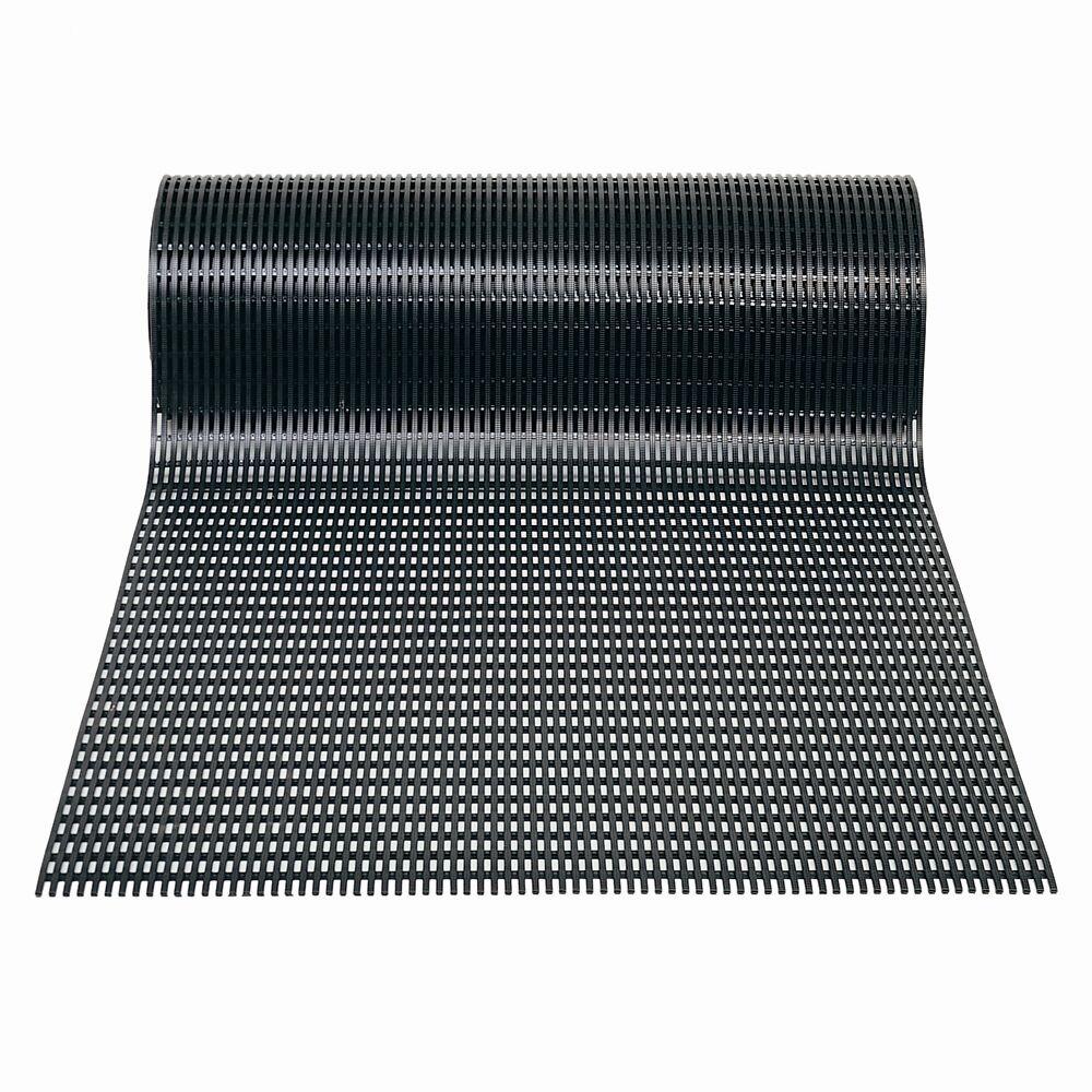 Ergorunner Safe Tread Ergonomic Comfort Utility Mat Mat Size: Rectangle 3' x 30', Color: Black