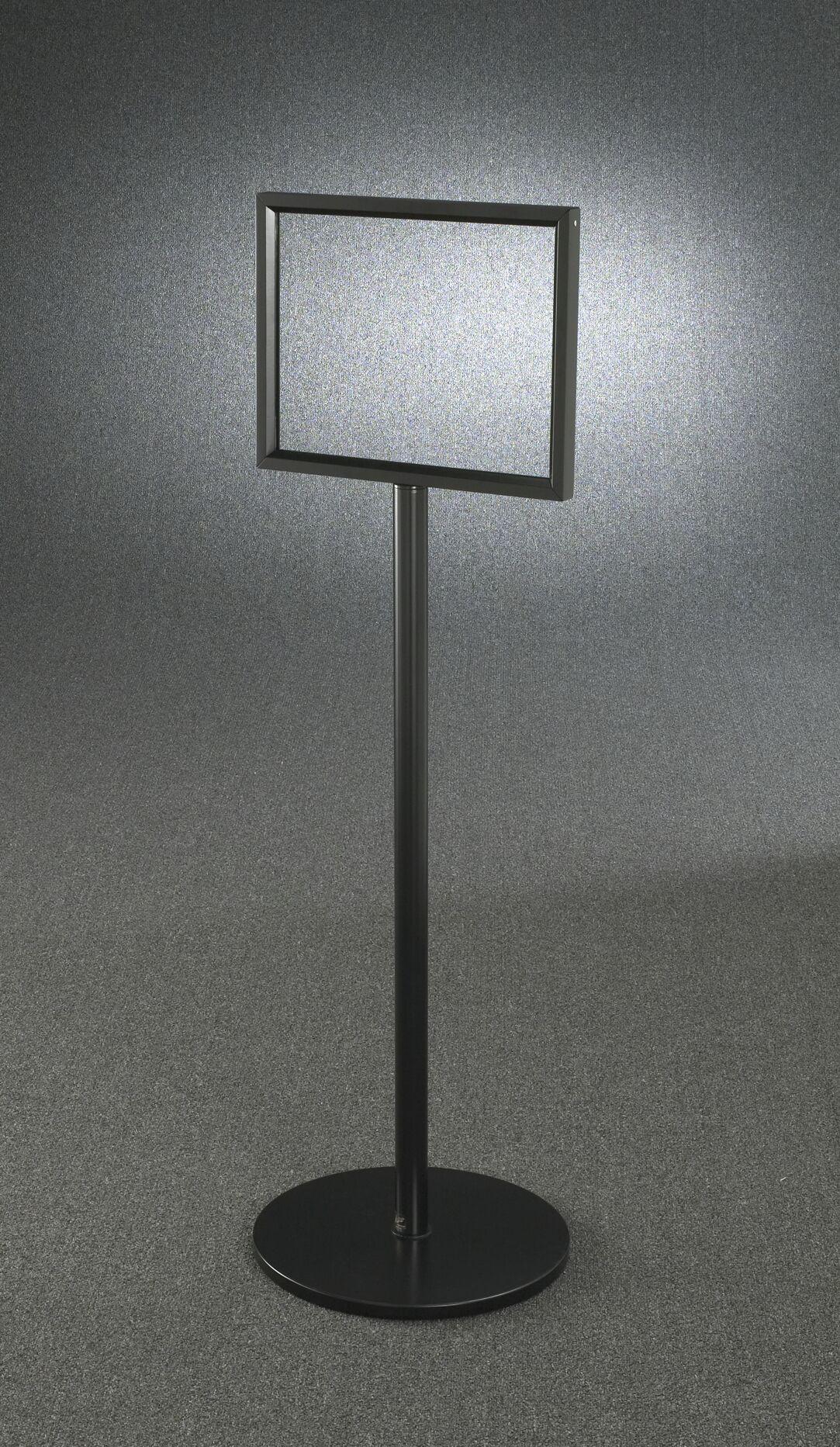 Standard Floor Standing Sign Frame Stand Size: 48