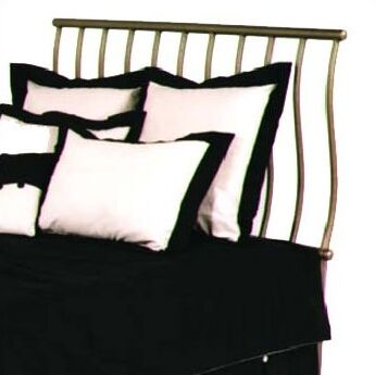 Sleigh Slat Headboard Color: Aged Iron, Size: Full