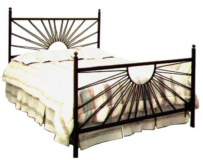 Panel Bed Color: Satin Black, Size: Queen
