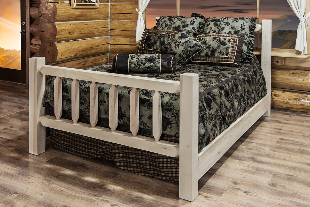 Katlyn Panel Bed Color: Unfinished, Size: California King