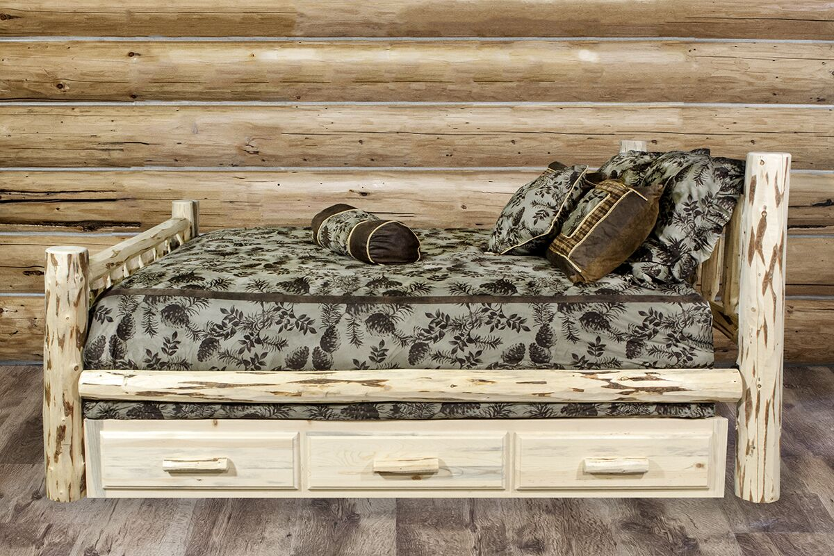 Abordale Storage Panel Bed Size: Queen, Color: Ready to Finish