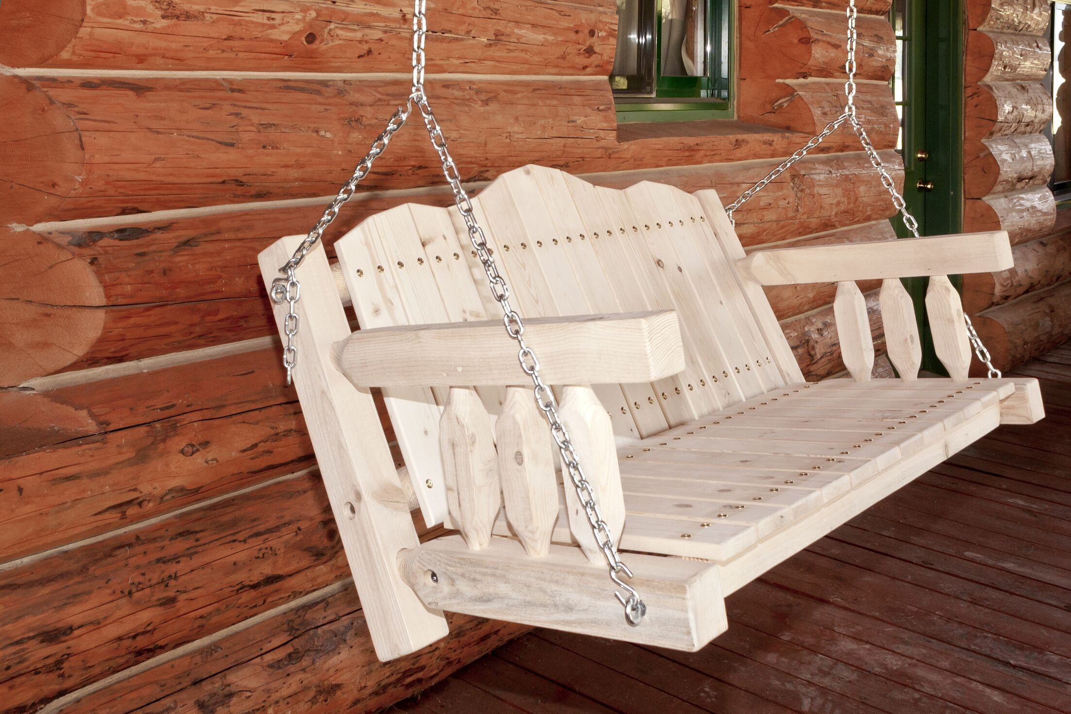 Katlyn Swing Seat with Chains Finish: Ready To Finish
