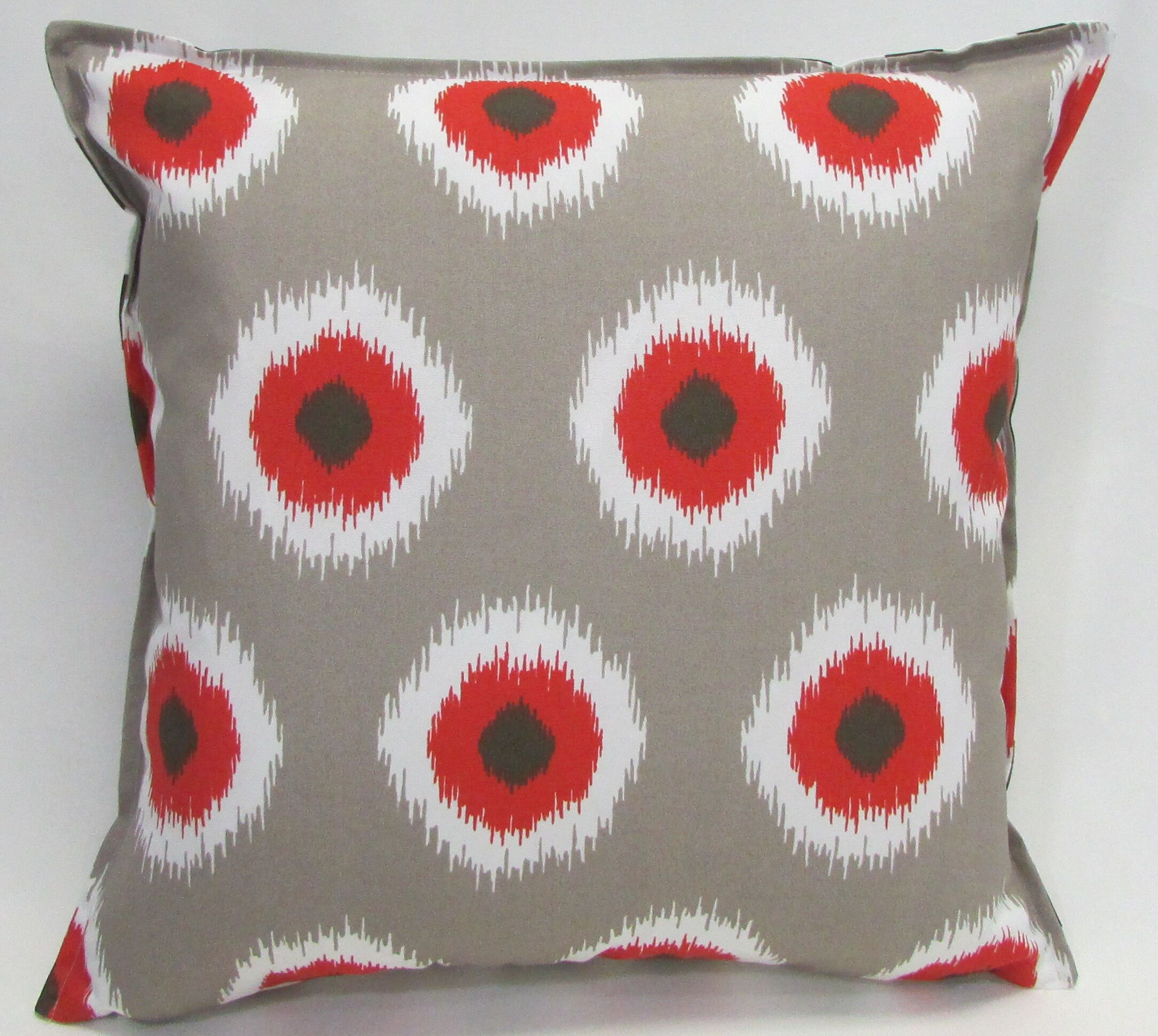 Outdoor Living Throw Pillow (Set of 2) Size: 22