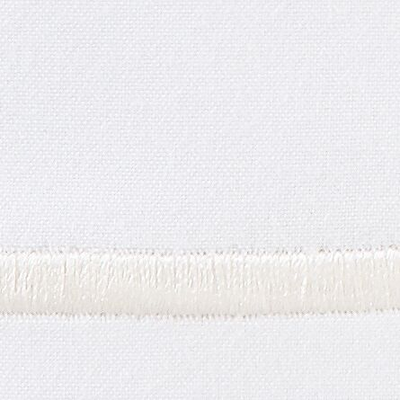 Melody 420 Thread Count Egyptian-Quality Cotton Flat Sheet Color: Pearl, Size: King