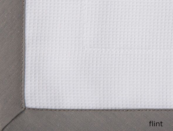 Pique Tailored Sham Size: Standard, Color: Flint