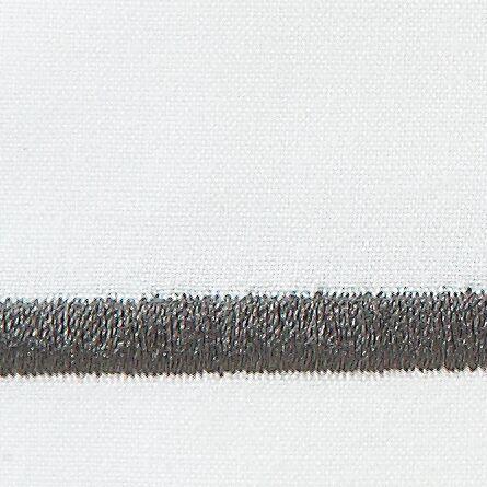 Concerto Pillow Case Color: Graphite, Size: Standard