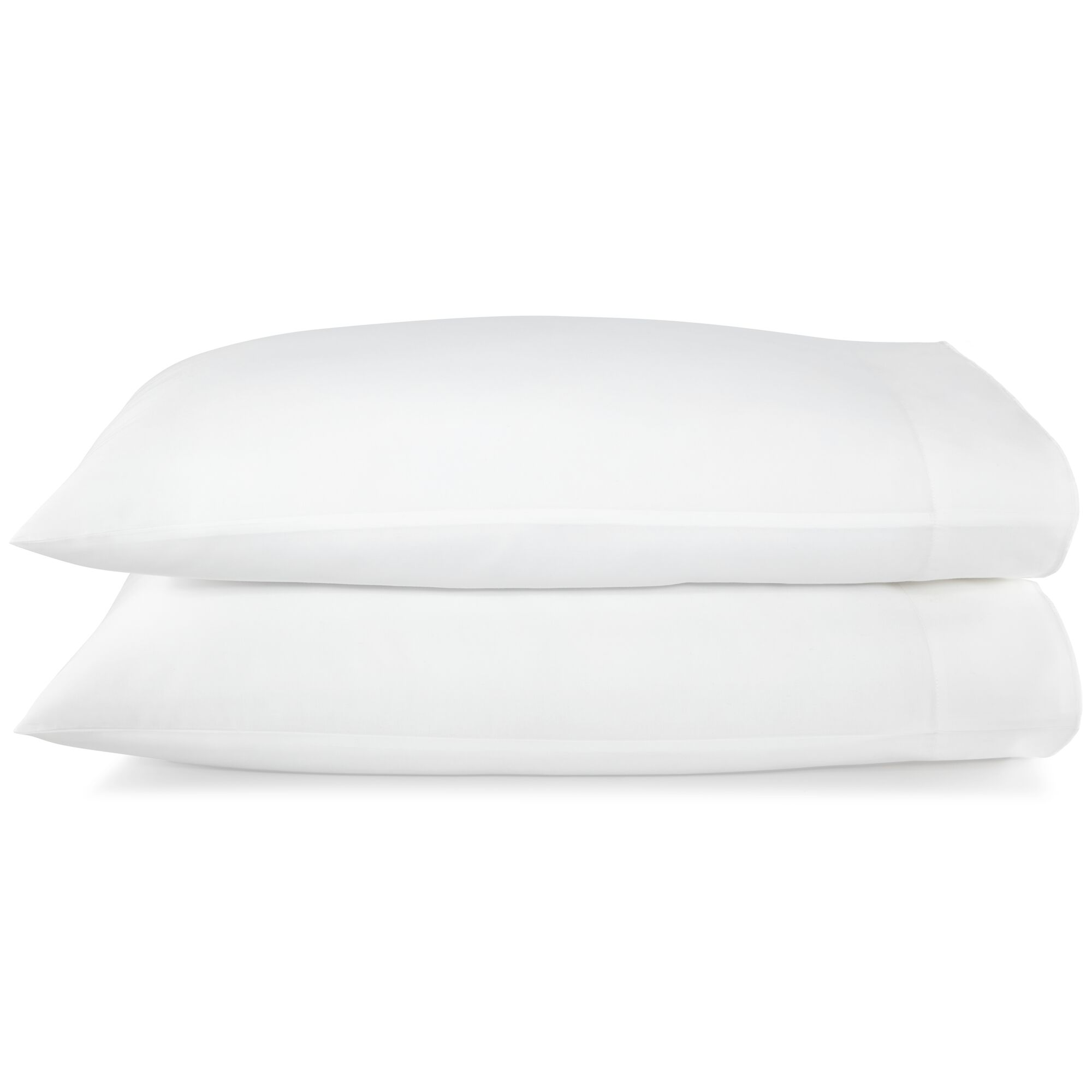 Melody Pillow Case Color: White