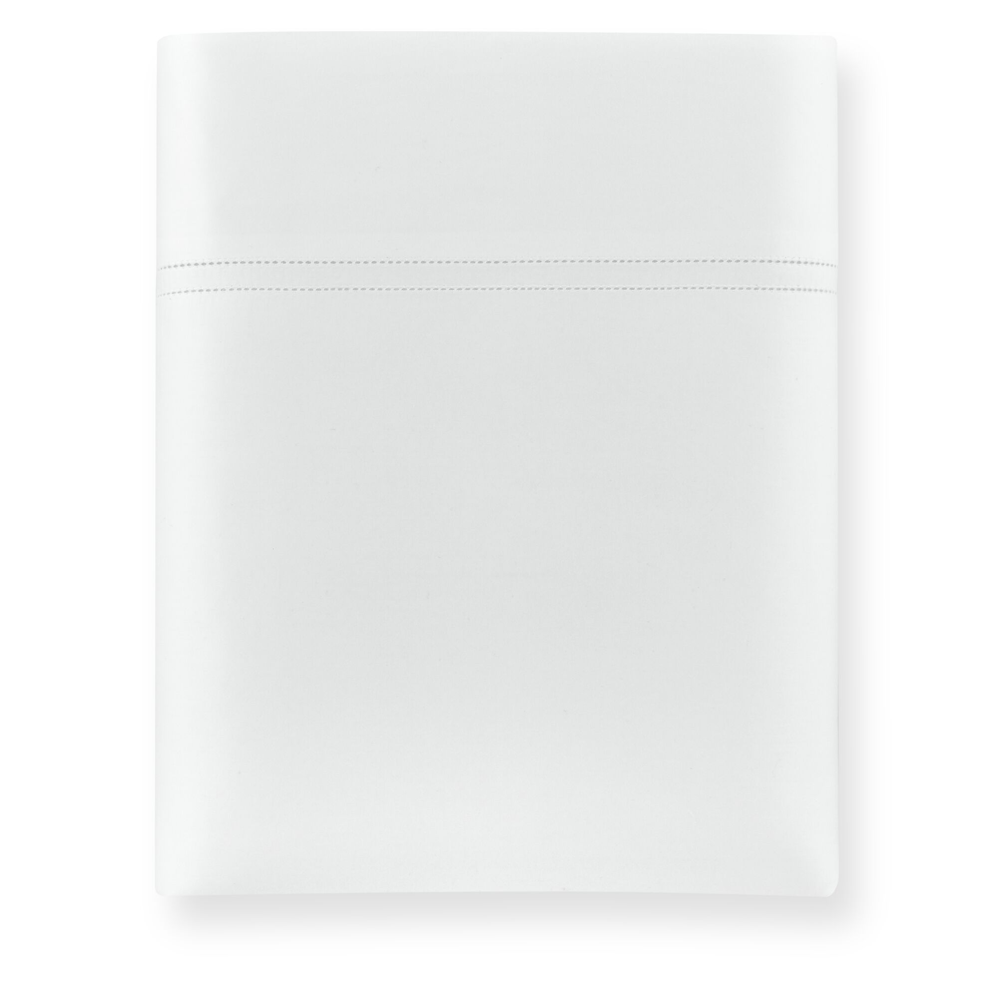 Lyric 500 Thread Count Egyptian-Quality Cotton Flat Sheet Size: King, Color: White