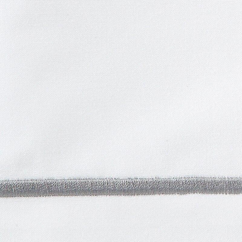 Boutique 200 Thread Count 100% Cotton Flat Sheet Size: King, Color: Flint