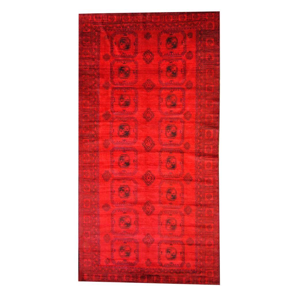 Prentice Red/Black Indoor/Outdoor Area Rug
