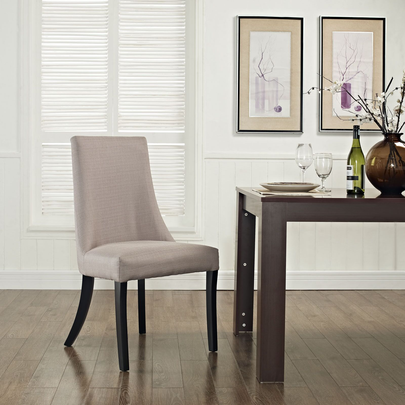 Reverie Side Chair Upholstery Color: Beige