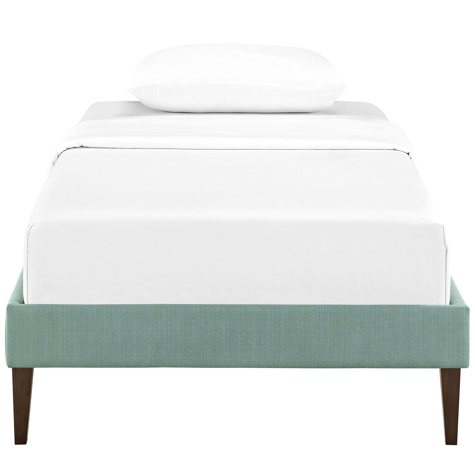 Sharon Platform Bed Size: Twin, Color: Laguna