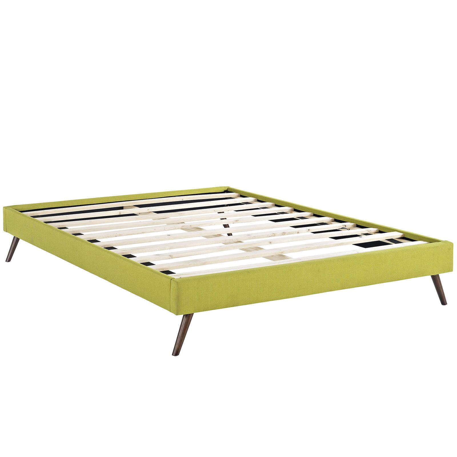 Helen Bed Frame Color: Wheatgrass, Size: Queen