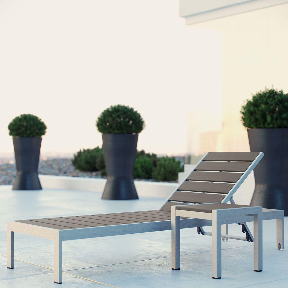 Coline 2 Piece Chaise Lounge Set