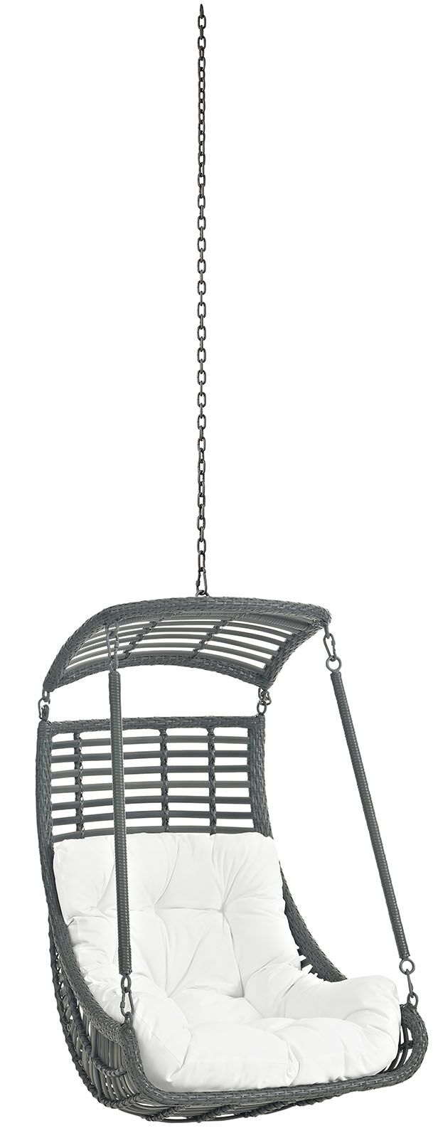 Jungle Swing Chair Color: White
