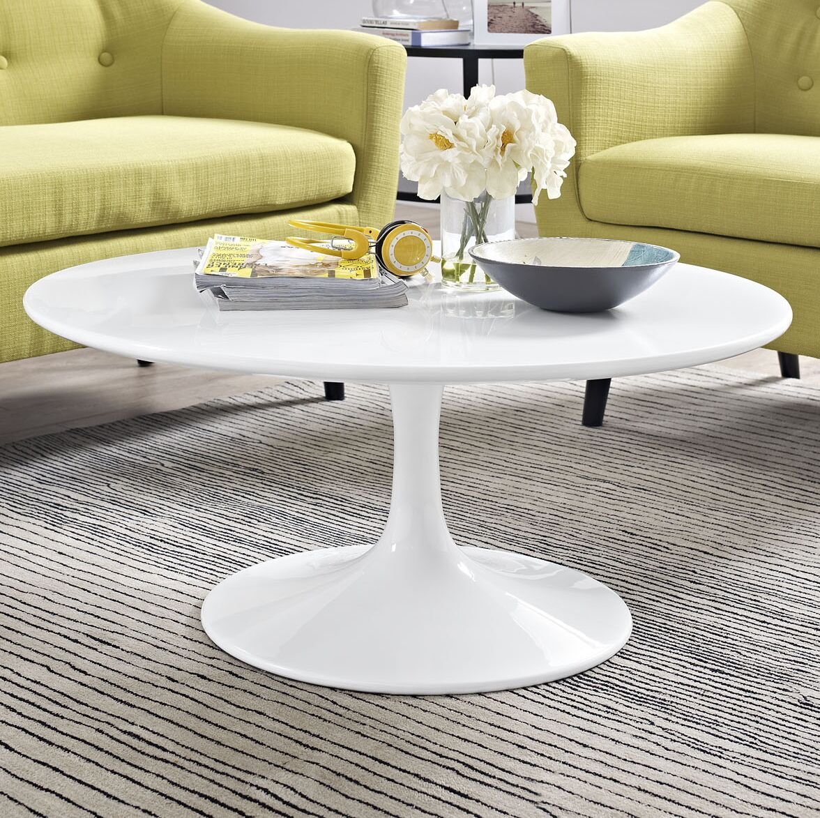 Julien Round Coffee Table Size: 15.5